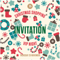 Exclusive Christmas Shopping Evening, 15% off*